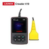 LANZAMIENTO CReader 419 herramienta de diagnóstico OBD2/EOBD lector de código de escáner X431 CR419 CR 4001 función Autel AL319 liberan el envío