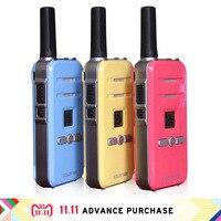 2 pcs mini FM flashlight walkie talkie handphone purse intercom walkie talkies woki toki west ham UHF 400 470