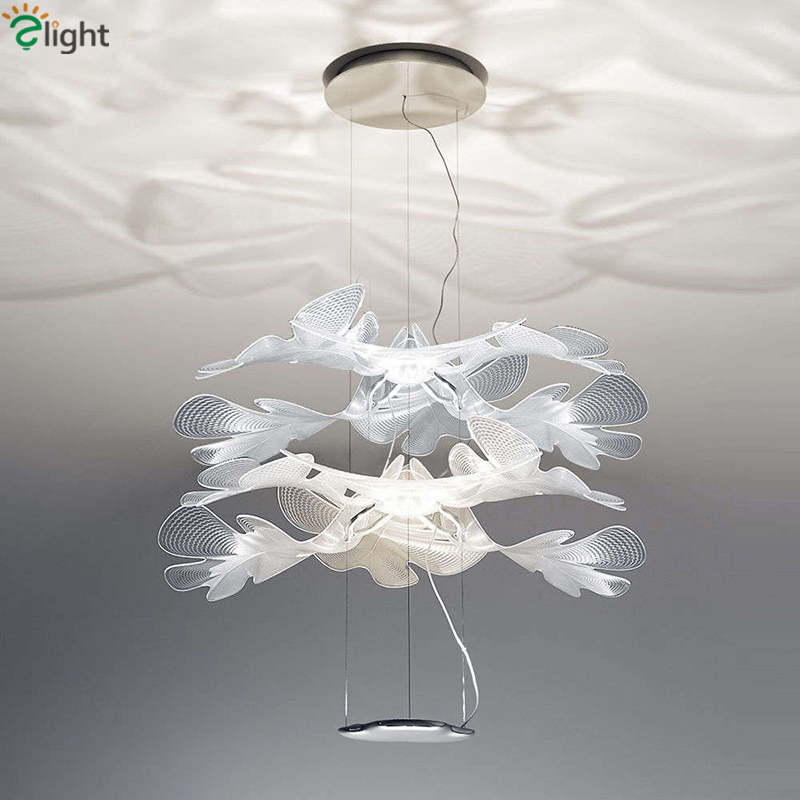 New Design PVC Flower Lustre Pendant Light Luminaria Led Pendant Lamp Romantic Living Room Hanging Lamp Suspension Lamp лампочка gauss led globe crystal clear 4w e27 2700k 105202104