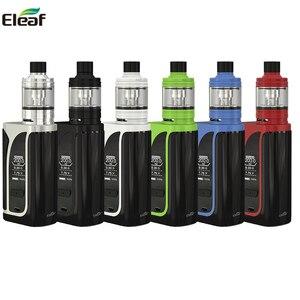 Image 1 - Original Eleaf iKuun i200 Kit ikuu i200 Box Mod Vape 4600mah Battery With MELO 4 D22Atomizer EC2 Coil Head E Cigarette vaporizer