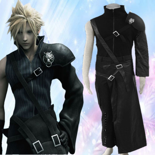 Final Fantasy Vll Cloud Strife Men's Cosplay Costume