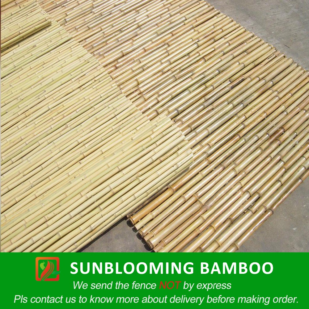 18m2m outdoor bamboo fence panels free ship to port