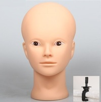 Mannequin Head Hair Yaki Before Make Up Bracket Hairdress Doll Heads Cosmetology Mannequin Heads Women Hairdresser