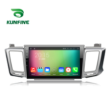 Quad Core 1024*600 Android 5.1 Car DVD GPS Navigation Player Car Stereo for Totota RAV4 2013 Radio 3G Wifi Bluetooth