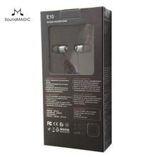 SoundMAGIC E10 Шум изолирующие In-Ear Hi-Fi стерео Наушники 100% новое и оригинальное из натуральной кожи черный, красный, золотой цвет