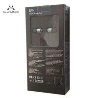 Soundmagic E10 בידוד רעש אוזניות סטריאו Hifi 100% חדשים ומקורית מקורית שחור, אדום, צבע זהב