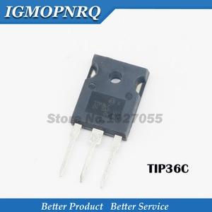 Image 2 - 10PCS = (5PSC 35C + 5PCS 36C) TIP35C TIP35 ZU 247 TIP36C TO 3P TIP36 Neue original kostenloser versand