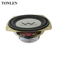 TONLEN 2PCS Full Range Speaker 4 Inch 4 Ohm 6ohm Soundbar 20W Music Subwoofer HIFI Bluetooth