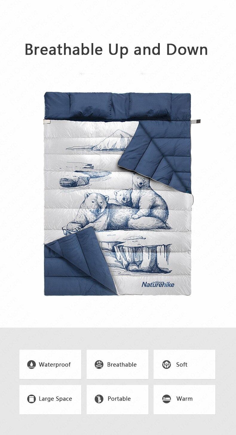 图案款双人睡袋_02