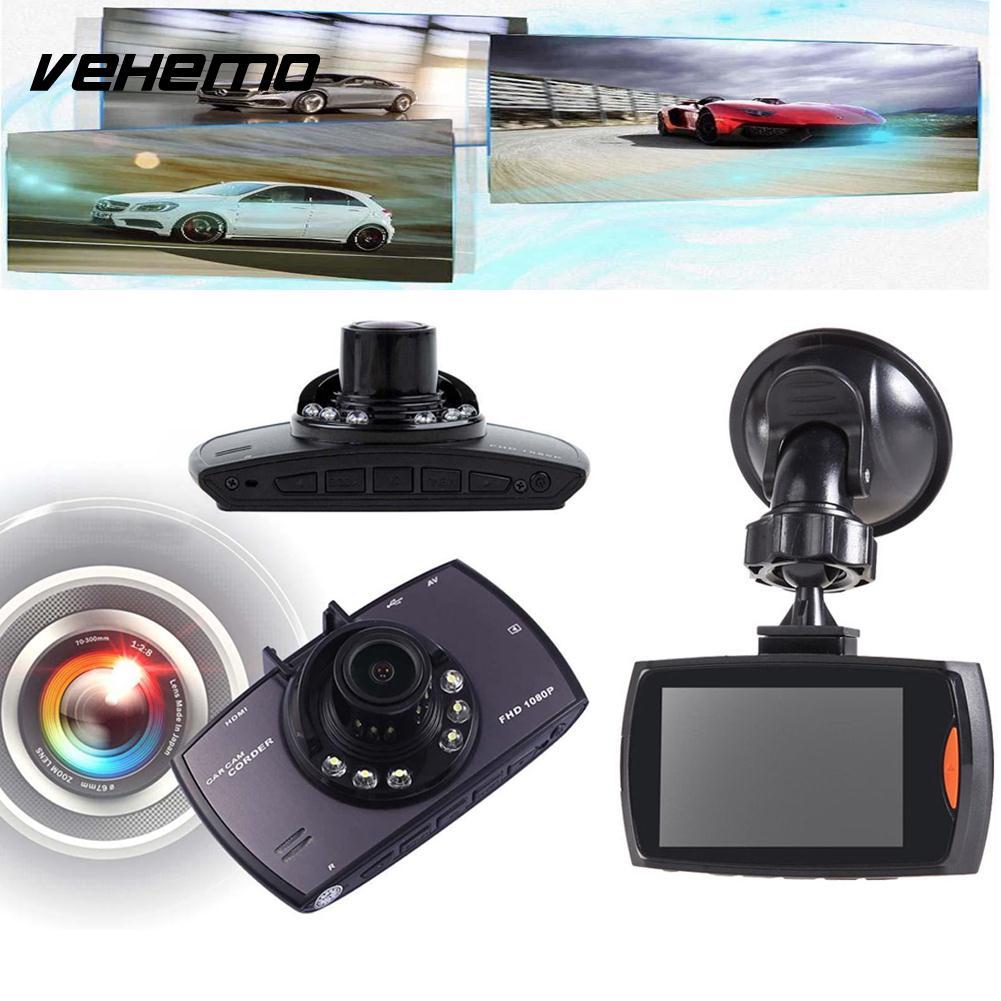 720P 2.4 Car Auto Camera Video Night Vision G-Sensor DVR Dashboard Dash Cam