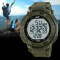 Fashion Cheap El Back Light Multifunctional Water Resistant 50m Wrist Digital Watch