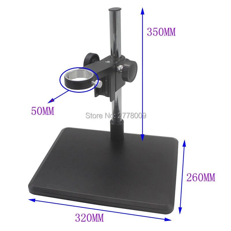 ФОТО Industrial Microscope Camera Holder Optical Lens Focusing Bracket 50MM Motherboard Repair Workbench