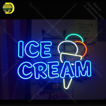 Ice Cream Neon Sign neon bulb Sign Glass Tube Hotel neon lights Recreationfood Shop Room Beer Iconic Sign Advertise personalized