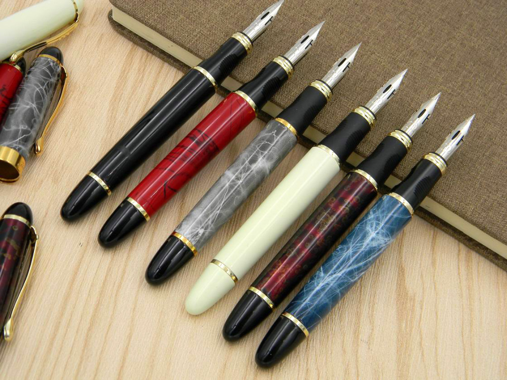 GIFT OFFICE In The Round Body Dipped In Nib Tip Of A Circle English Copperplate ES Calligraphy JINHAO X450 ZB G NIB Fountain Pen