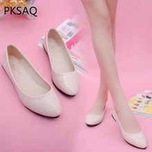 New Autumn Women Driving Flat Work Casual Shoes Student Comfortable Loafers Shoes Candy Color Fashion Sweet Poined Toe Shoes(China)