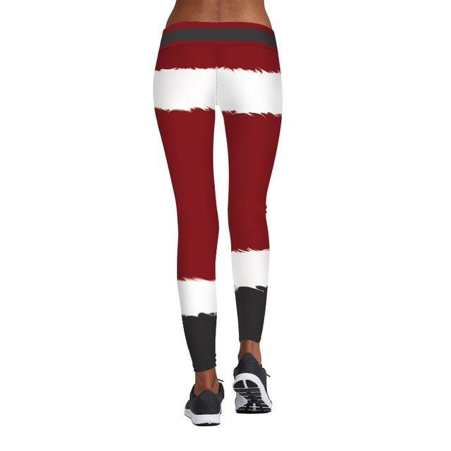 3D Print Christmas Leggings Women Sexy Leggings Girl