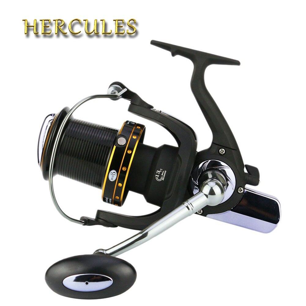 Hercules Anti-corrosion 6000/7000/8000/9000/10000 Série Moulinet De Pêche 13 + 1 BB Moulinet de Pêche Roue
