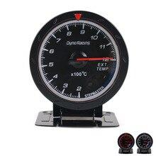Dynoracing 60 мм гоночный автомобиль датчик температуры выхлопных газов/EXT датчик температуры и светильник Авто Датчик температуры выхлопных газов TT101474