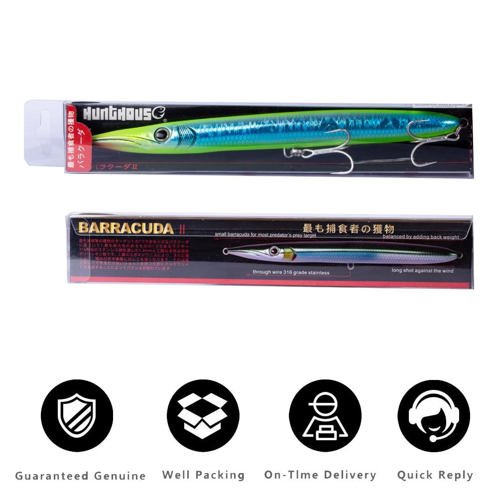 hunthouse isca barracuda lure 190mm 32g longo 04
