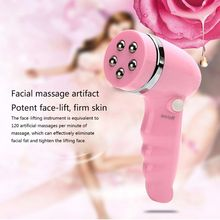 4-in-1 Electric Facial Cleaner Multi-function Facial Massager Brush Beauty Skin Care touchbeauty beauty apparatus 3 in 1 rotating electric facial cleansing brush compact portable beauty apparatus skin care new