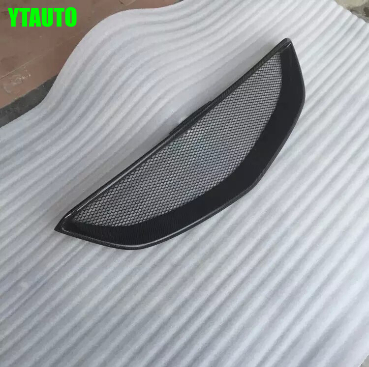 For Mazda 6 ATENZA Carbon Fiber Car front bumper Mesh Grille Around Trim Racing Grills