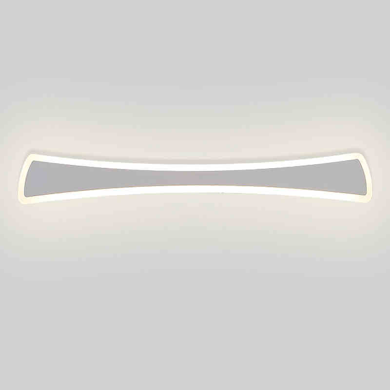 wall light Simple led bathroom waterproof modern minimalist bathroom mirror lamp dresser lamp aisle wall lamp wl4211131 40cm 12w acryl aluminum led wall lamp mirror light for bathroom aisle living room waterproof anti fog mirror lamps 2131