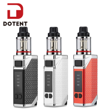 DOTENT LXT 80W Electronic Cigarette 4ml Vaporizer 510 Thread 2200mAh Built-in Battery Metal Shisha Pen Vape for Starter Vaper купить недорого в Москве