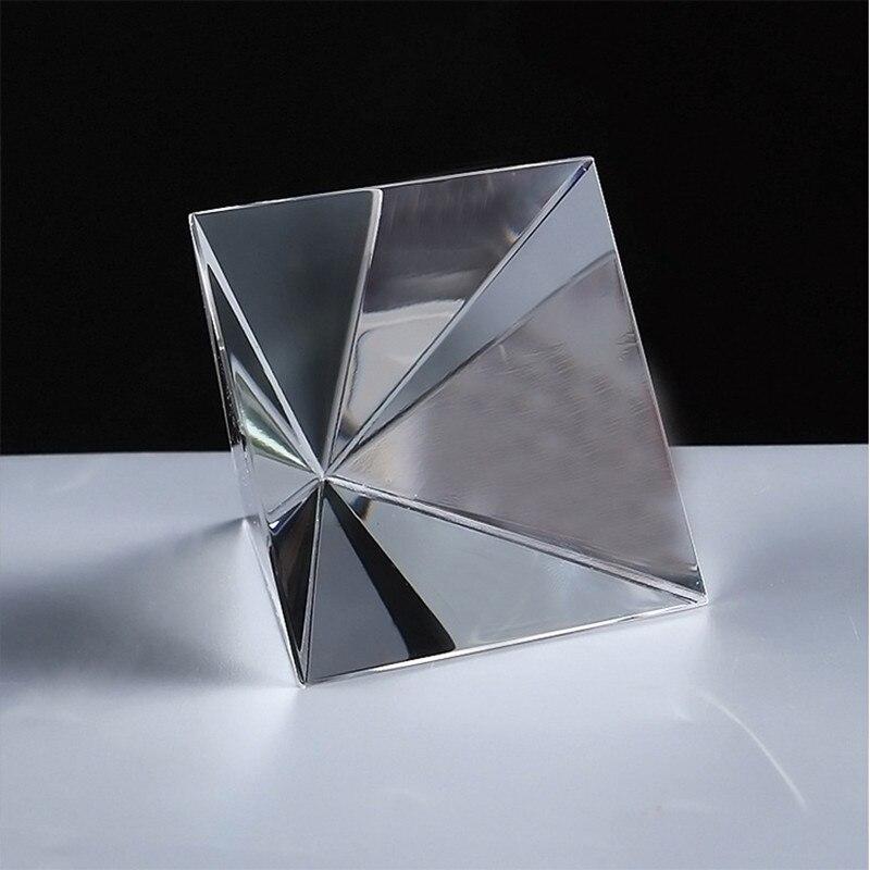 6CM K9 AAA Кварц Кристалл Шыны Пирамида - Үйдің декоры - фото 3