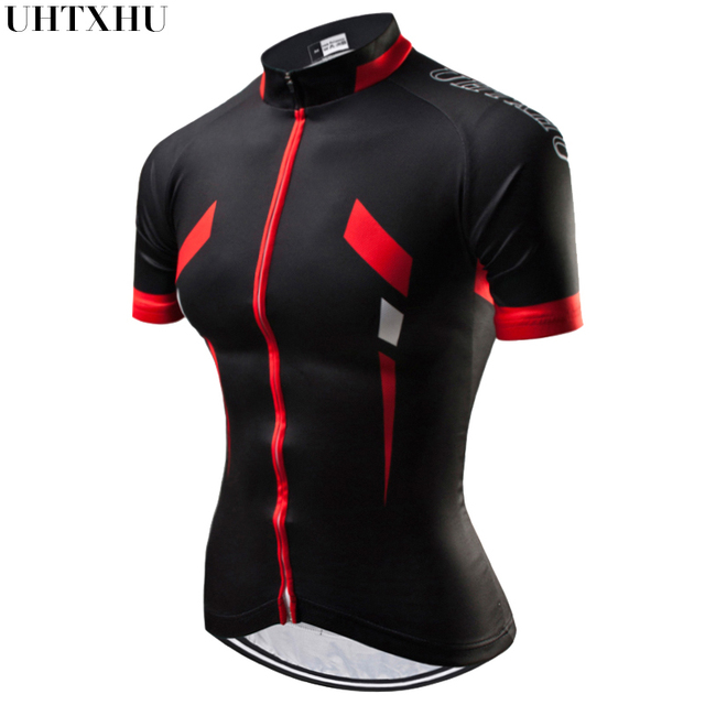 Uhtxhu Women Cycling Jerseys Mountain Bike Clothing MTB Bicycle Wear Clothes Summer Cycling Clothing