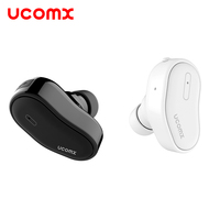 UCOMX U8 Mini Wireless Bluetooth Earphone Business Invisible Earbuds Small Hidden Earpiece For IPhone 6S 7