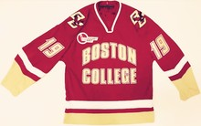bbea92813 jujuland Vintage BOSTON COLLEGE RED 19 CHRIS KREIDER Hockey Jersey