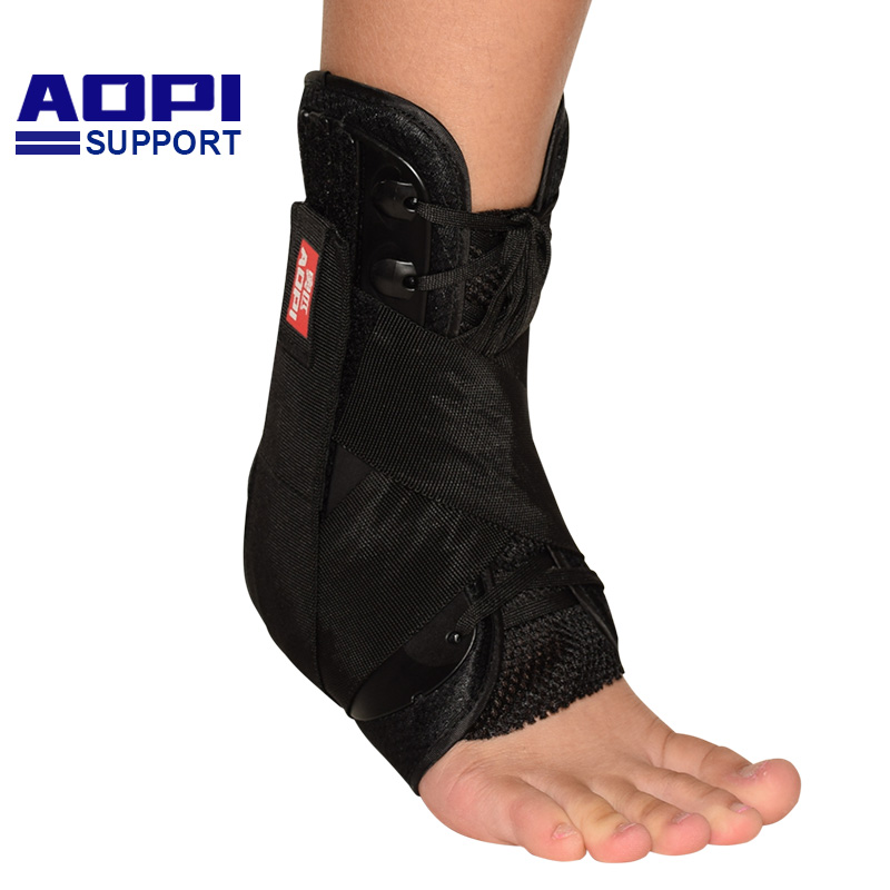 AOPI Professional Level 3 Protectio Ankle Support Strong Ankle Bandage Elastic Brace Gua ...