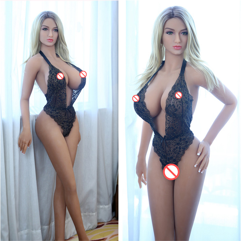 158cm Lifelike Sex Doll Big Breast Boobs Full Real Solid Silicone Sex Dolls Japanese Love Doll With Skeleton for men