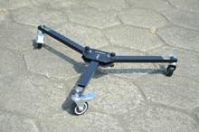 Professional Universal Folding 3 Wheels Dolly Tripod For Crane Jib Camera Track