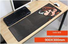 Mario 900x300x2mm caliente mouse pad gaming mousepad gamer ratón mat game pad laptop computadora de escritorio grandes padmouse van gogh reproducción esteras