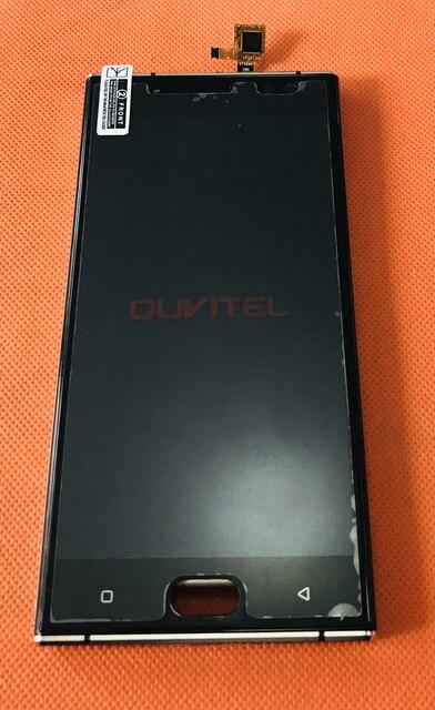 Usato Originale Lcd Screen Display + Touch Screen + Frame per Oukitel K3 MTK6750T Octa Core da 5.5 Pollici Fhd Spedizione trasporto Libero
