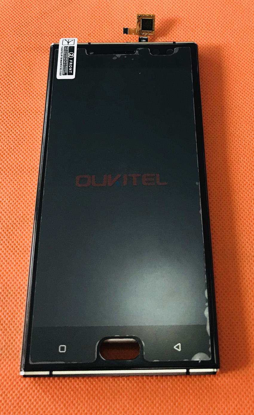 Used Original LCD Display Screen + Touch Screen + Frame for Oukitel K3 MTK6750T Octa Core 5.5 Inch FHD Free Shipping|touch screen|5.5 inch touch screen|display lcd touch screen - title=