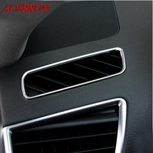Dashboard outlet trim special modified interior decoration accessories for audi Q5 2009-2015 car accessories car-styling AUTO