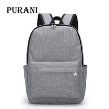 PURANI Teenagers School bags Boys and Girls Backpack Daypack for Men Women Work Travel Laptop Mochila