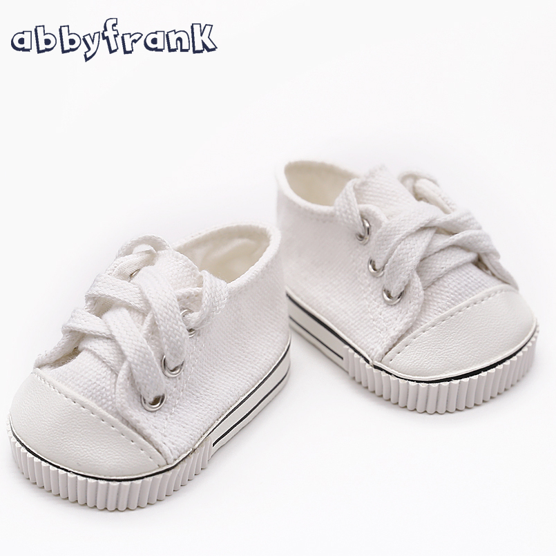 Cute 18Inch Baby Born Doll Shoes For American Girl Baby Born Doll Clothes Accessories Fashion Handmade Sneakers Doll Dress baby born doll accessories kayak adventure set 18 inch american girl doll accessories let s go on an outdoor kayak adventure