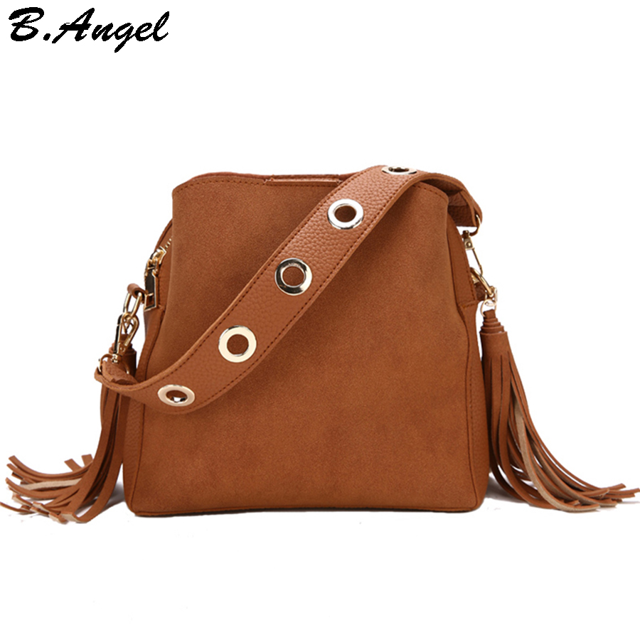 7a9b0623e Pequenos Sacos Do Mensageiro para Mulheres com Tassel Mulheres Bolsas e Bolsas  Bolsas de couro Bolsa
