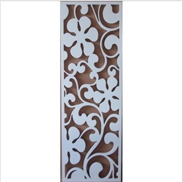 Dongyang bois MDF créatif creux sculpté partition style européen décoration plafond mur TV fond Xuan