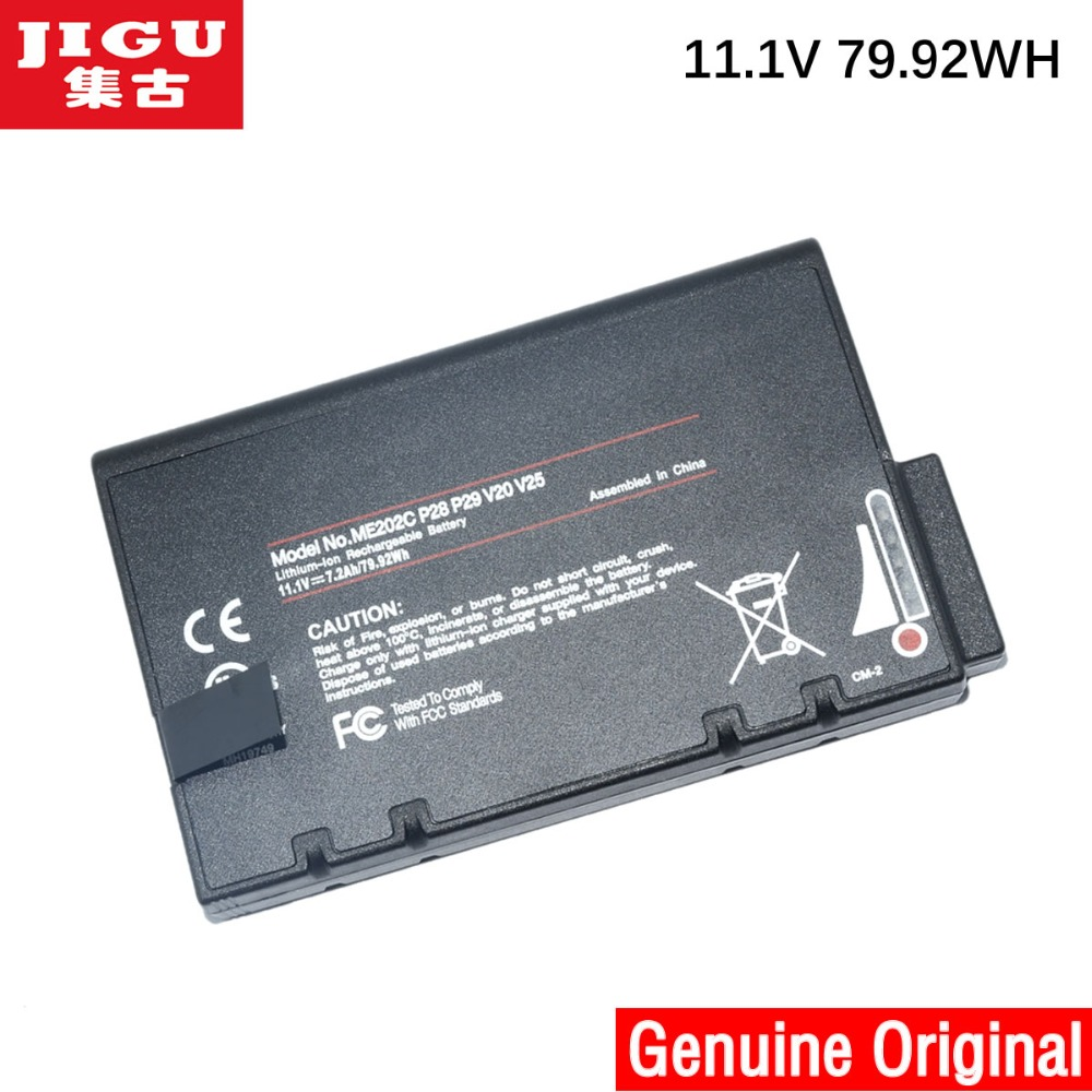 JIGU 11.1V 79.92WH 33-01PI 338911120104 BP-LP2900 D'origine batterie d'ordinateur portable Pour HASEE DR202S LI202S ME202C ME202EK RS2020