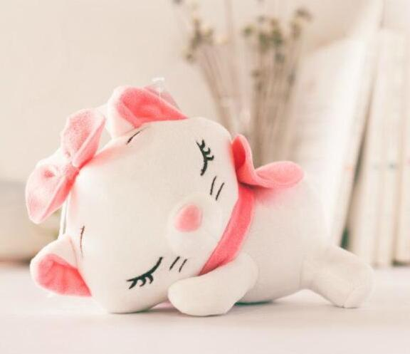 candice guo! cute plush toy cartoon Marie cat stitch strawberry bear Dumbo monster papa stuffed doll birthday Christmas gift 1pc