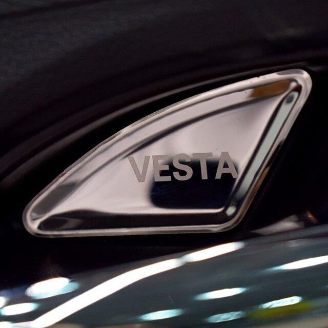 Great Edelstahl Innen Türgriff Bowl Abdeckungs Ordnung Für Lada Vesta SW Kreuz