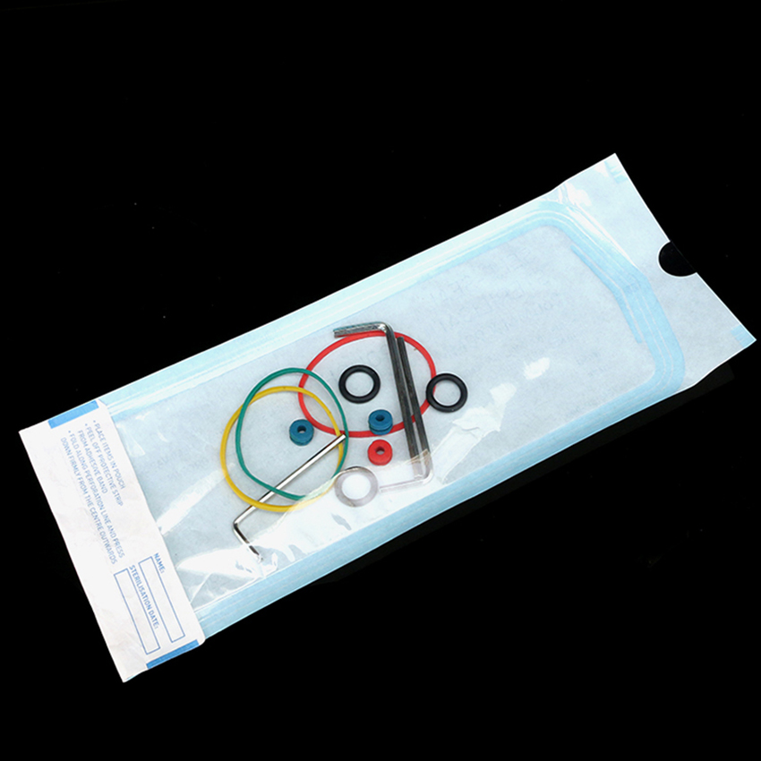 200Pcs/Bag Tattoo Cleaning Accessories Sterilization Pouches Bags Medical-Grade Bag Disposable Tattoo Supplies 260 x 90mm L Size