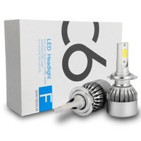 Hot sale H7 led Car Led Headlight 36W LED Ramp Lamp Headlight Bulbs For Car Auto Front Light Fog Bulb DC 6-36V