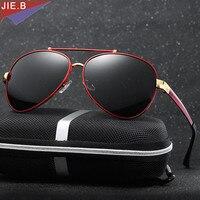 2017 Fashion Men's Aviation Sun Glasses Vintage Men Brand Designer  Polarized Rays Protection Retro Sunglasses
