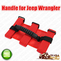 NEW OEM Red Sport Bar Grab Handles for Jeep Wrangler YJ, TJ, JK & Unlimited Grip Handle Free Shipping