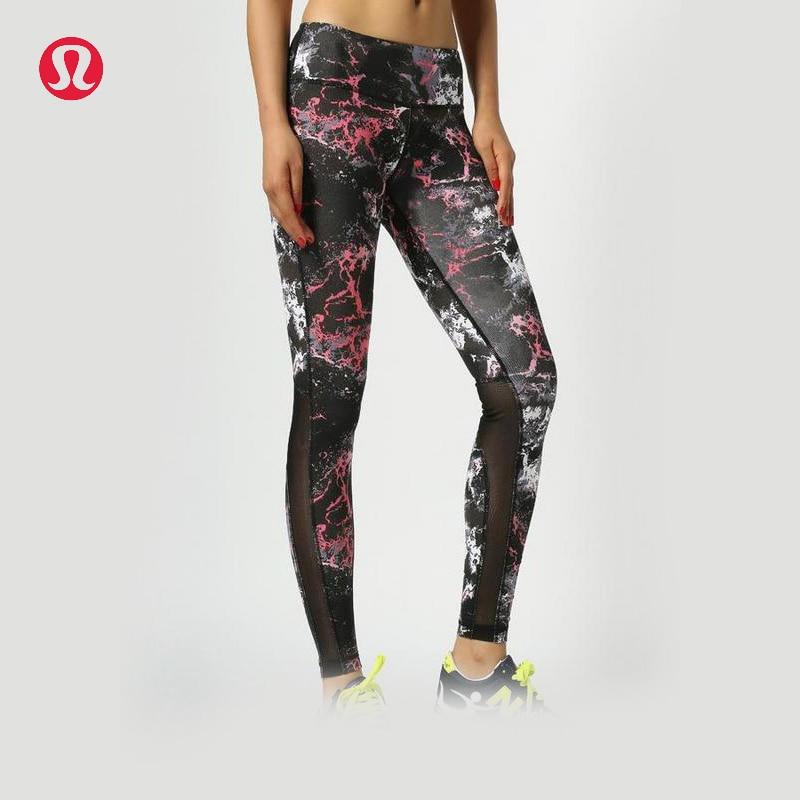 Prix pour Lulu LULULEMON volcanique couleur yoga pantalon pour les femmes 3 couleurs KZ002